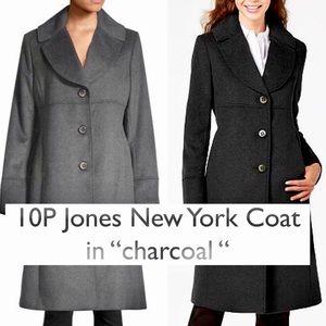 SALE! NWOT sz 10P Jones New York Wool Blend Coat